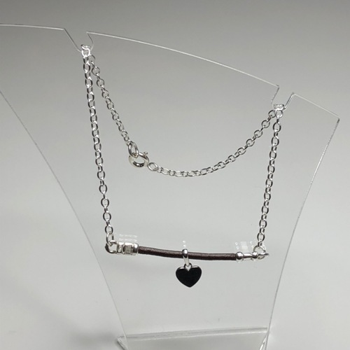 Sweetheart Anklet | SilverTales | Hand Crafted Jewellery