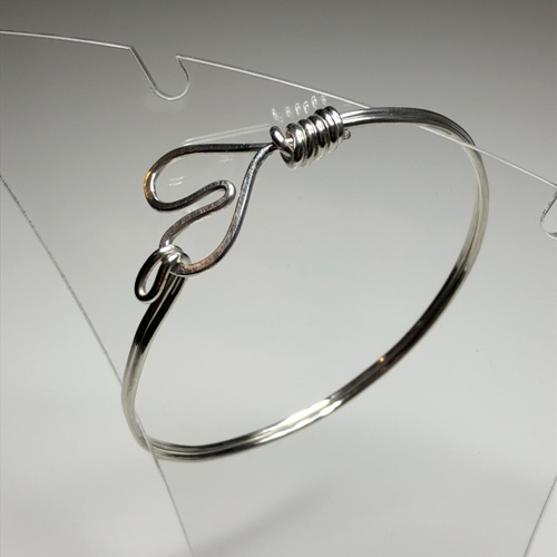 Silver Heart Bangle | SilverTales | Hand Crafted Jewellery