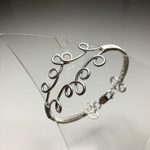 Curly Wrap Bangle | SilverTales | Hand Crafted Jewellery