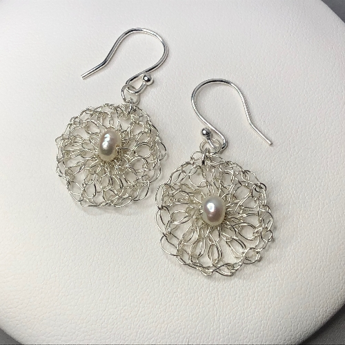 Silver Crochet  | SilverTales | Hand Crafted Jewellery