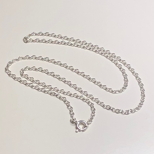 Sterling Silver Trace Chain 16in | SilverTales | Hand Crafted Jewellery