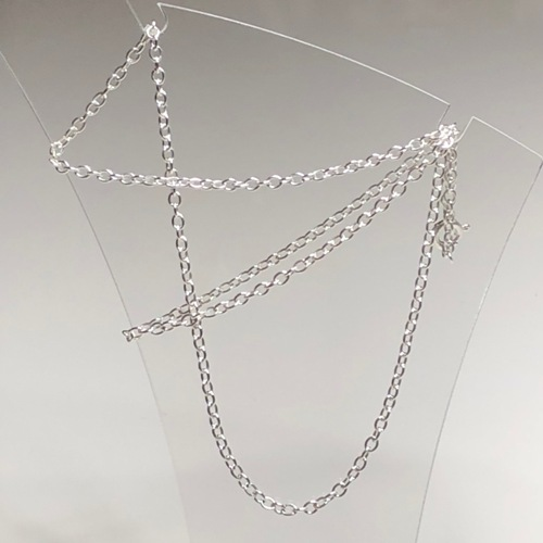 Sterling Silver Trace Chain 16 | SilverTales | Hand Crafted Jewellery