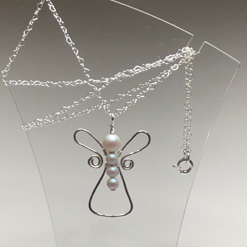 Cute Angel | SilverTales | Hand Crafted Jewellery
