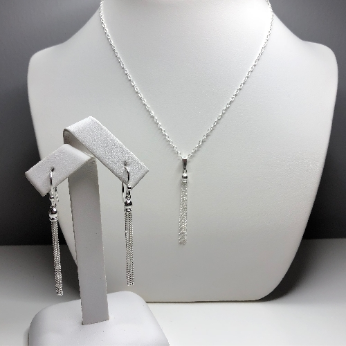 Tassel Set in Sterling Silver | SilverTales | Hand Crafted Jewellery